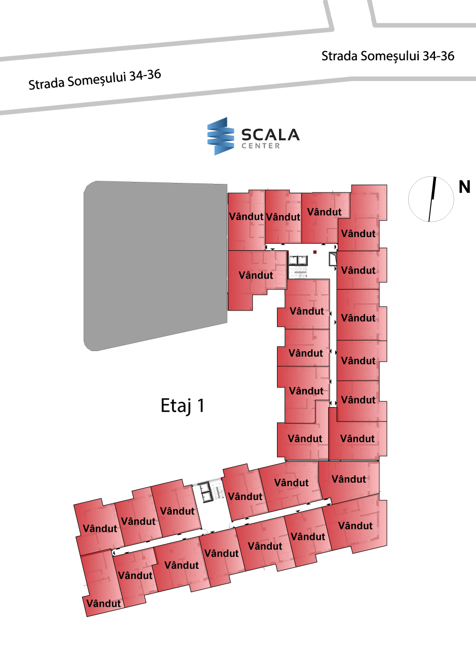 scala center plan etaj 1